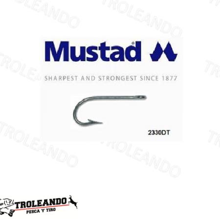 Anzuelo de la marca Mustad modelo Kirby Sea Duratin