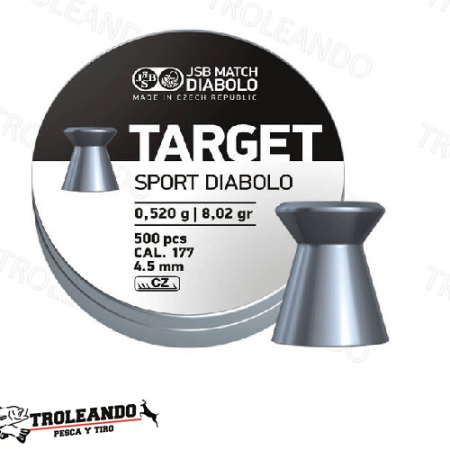 Diabolo Cal 0.177 JSB Target Sport