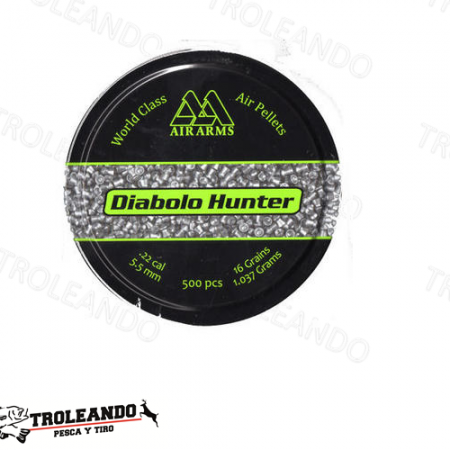 Diabolo Cal 0.22 Air Arms Hunter