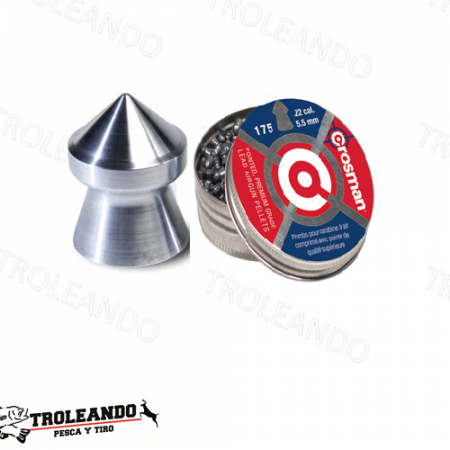 Diabolo Cal 0.22 Crosman Pointed P022