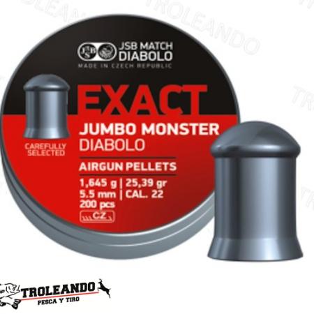 Diabolo Cal 0.22 JSB Exact Jumbo Monster