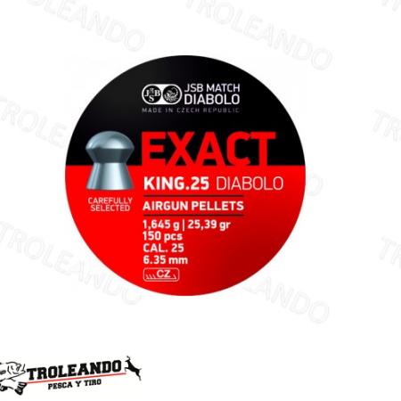 Diabolo Cal 0.25 JSB Exact King