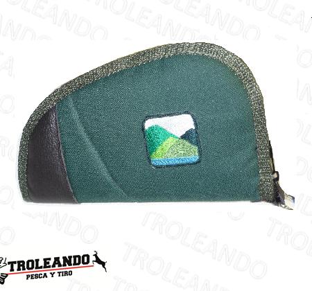 funda pistola verde